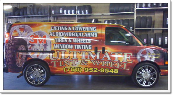 Ultimate Tinting & Wheel in High Desert